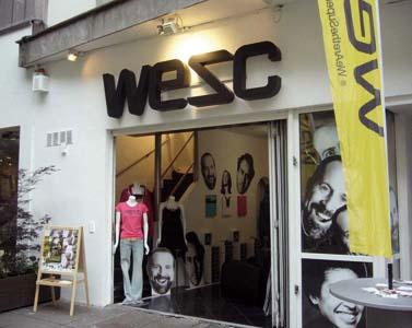 WeSC Pop Up Store