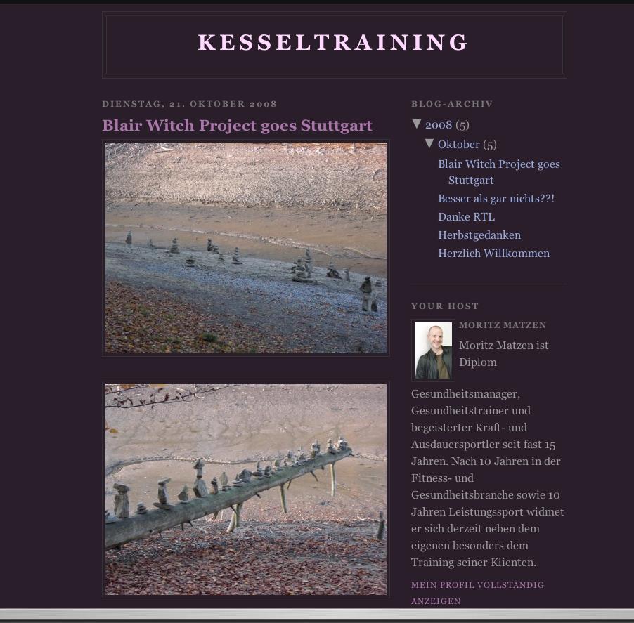 Kesseltraining