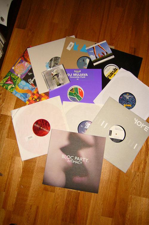 Viele viele bunte Platten