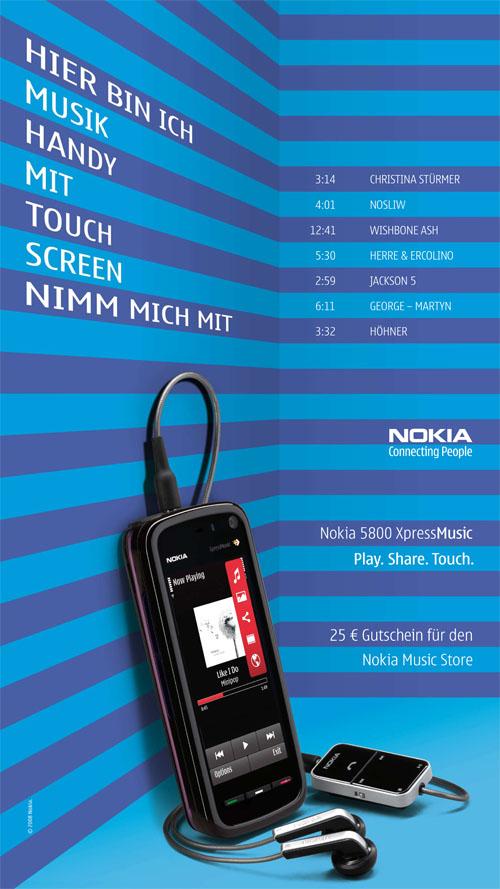 Nokia deeps on