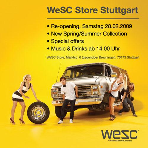 WeSC Re-Opening