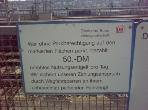 Die Bahn – immer up to date
