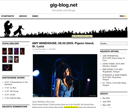 Konzerte und Zeugs: gig-blog.net