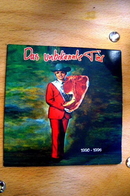 Fundstücke #3: Die unbekannte Tier CD
