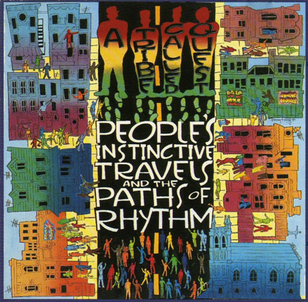 """52 Albums/16: A Tribe Called Quest<br>""""People's Instinctive Travels<br>and the Paths of Rhythm"""""""