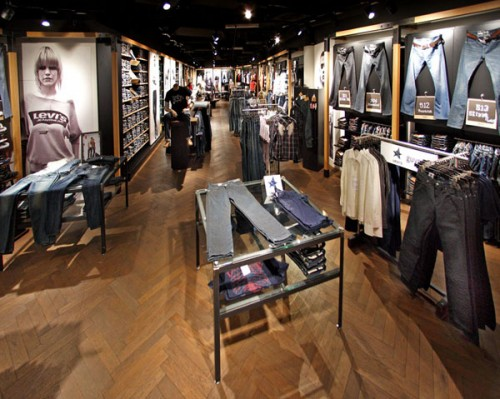 Von Donnerstag bis Samstag: <br>Levi's Store Opening