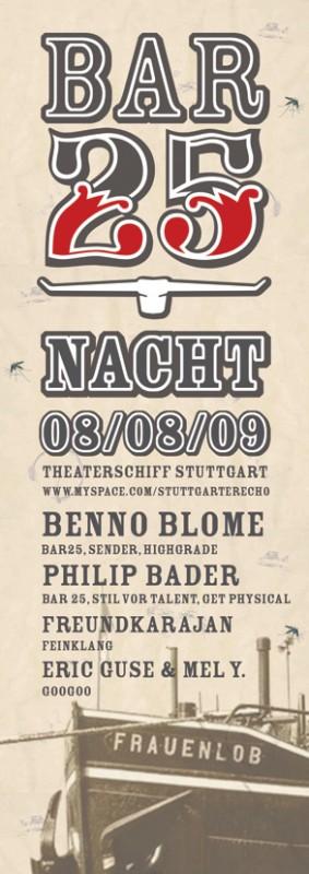 Bar25 Nacht auf dem Theaterschiff <br>– nur noch wenige Tickets im VVK