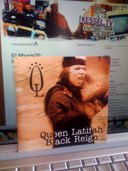 "52 Albums/21: <br>Queen Latifah ""Black Reign"" by Don Rossi"