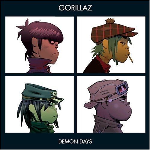 Gorillaz Demon days Cover
