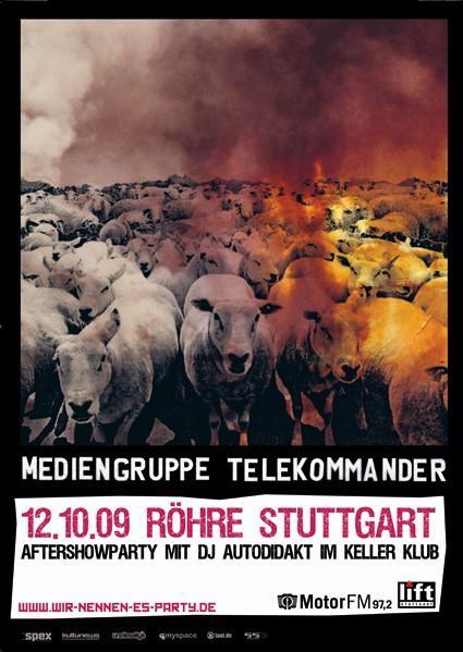 Heute Abend: <br> Mediengruppe Telekommander