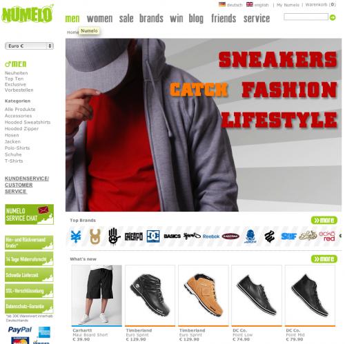 Neuer Online-Shop Numelo