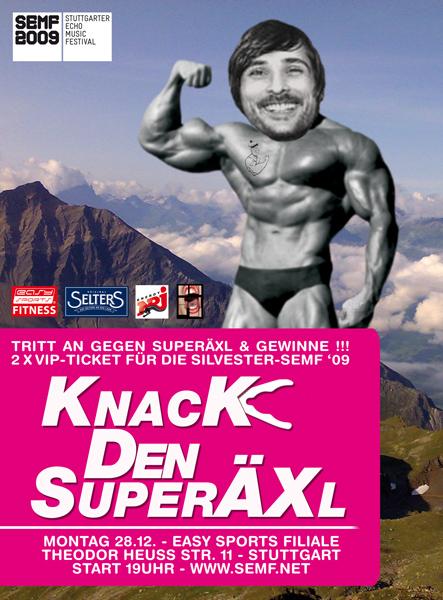 Knack den Superäxl