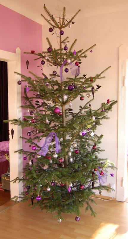 The famous Weihnachtsbaum oder auch: Dank euch war 2009 besonders schön