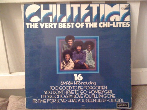 "52 Albums/41: The Chi-Lites ""ChiLiteTime"""