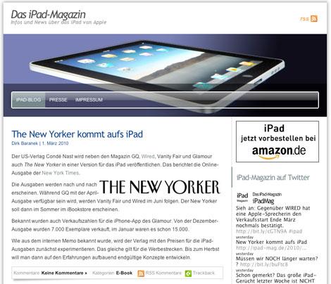 iPad Mag