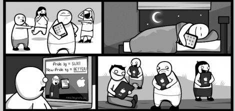 Wegen Apple in der Gosse