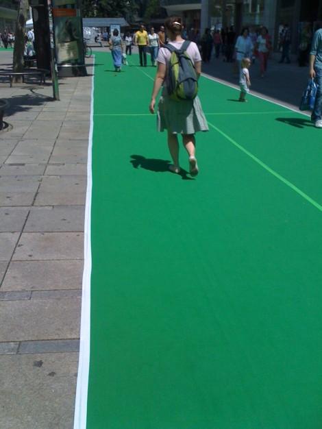 Der grüne Teppich