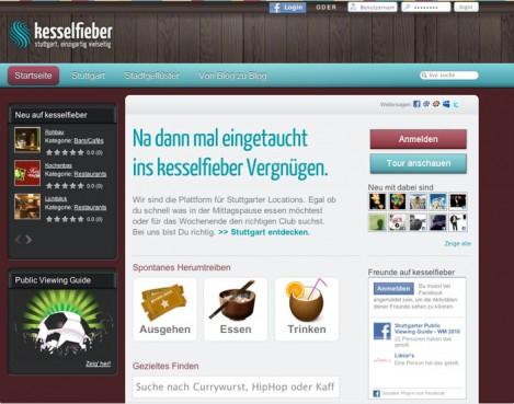 Neue Homepage für Stuttgart: Kesselfieber.de