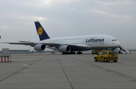 Die A380 in Stuttgart