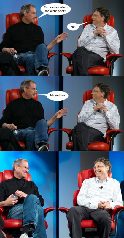 Steve vs. Bill