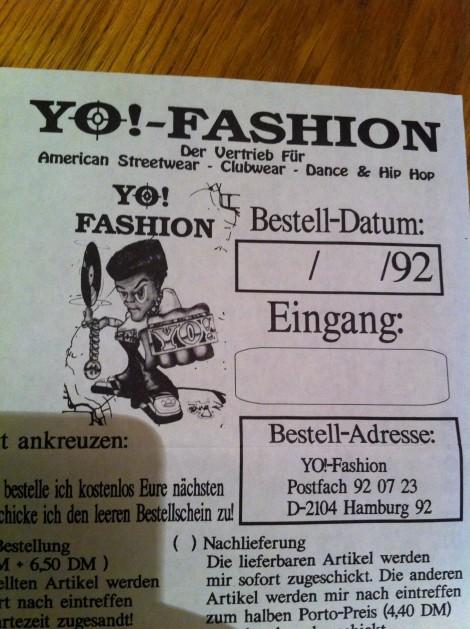 Merchandise im Jahr 1992