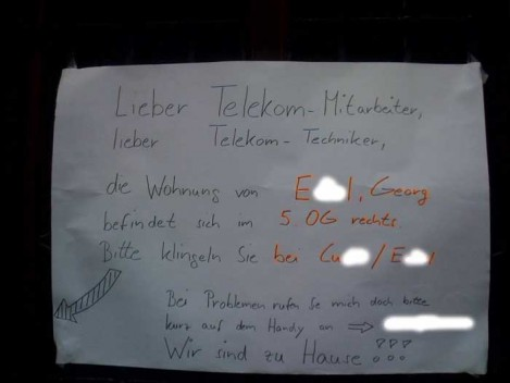 Lieber Telekom-Mitarbeiter