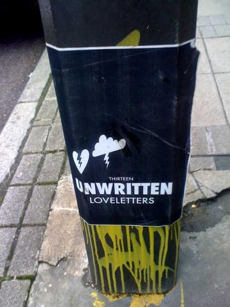 Thirteen Unwritten Loveletters