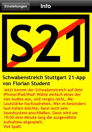 Schwabenstreich App