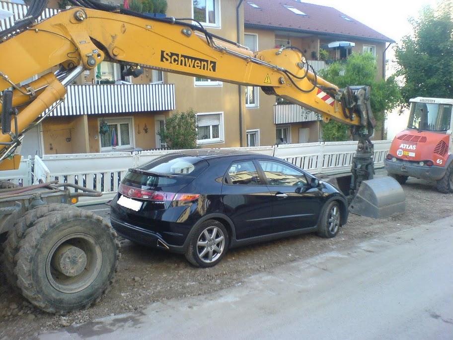 Umparkszene Marienstraße