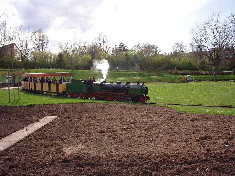 Killesbergbahn Saison-Opening an Karfreitag