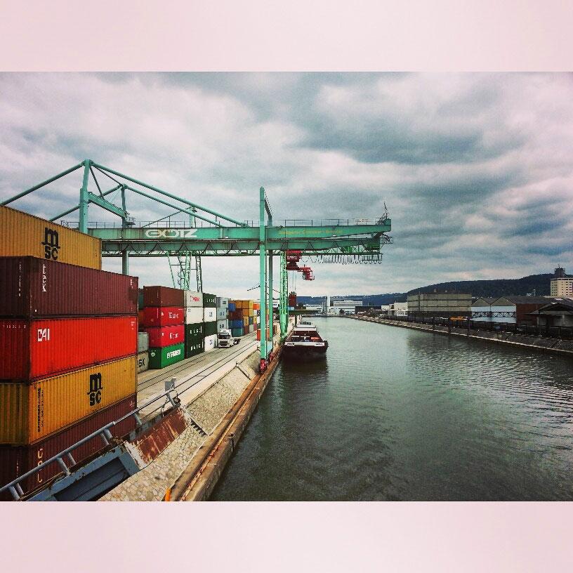 Diesen Samstag: Joe Bauer am Hafen
