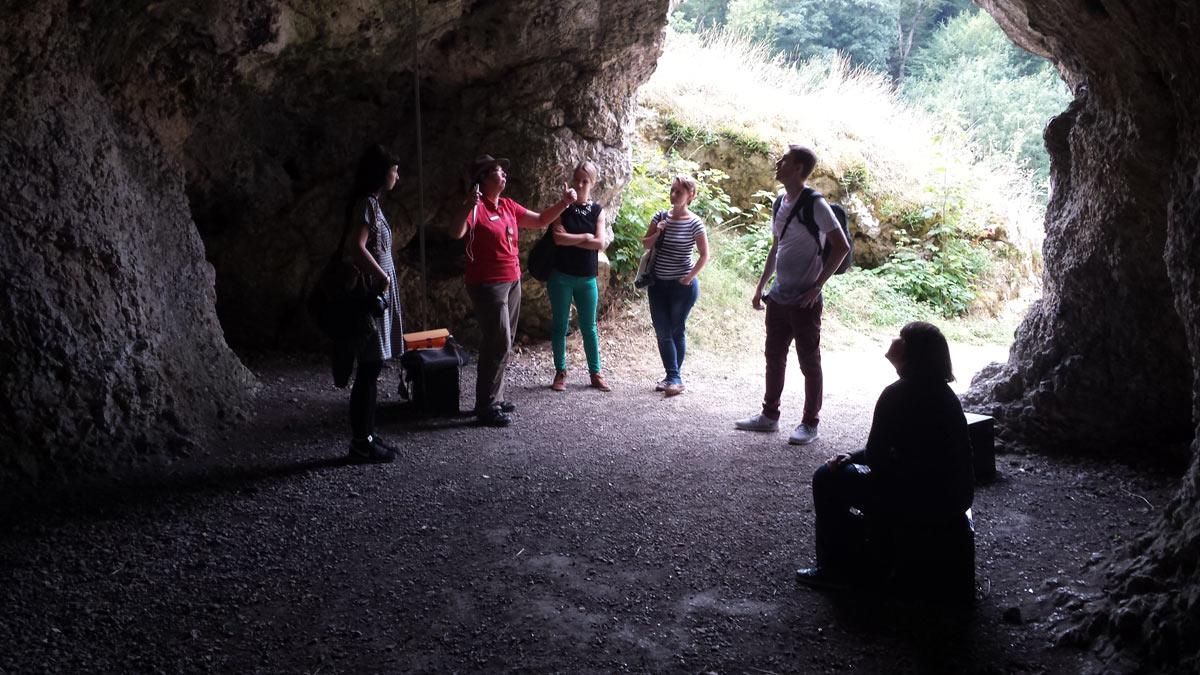 Höhlenmenschen (Symbolbild).