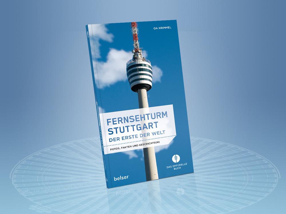 Neu aufgelegt: Das offizielle Fernsehturm-Buch.
