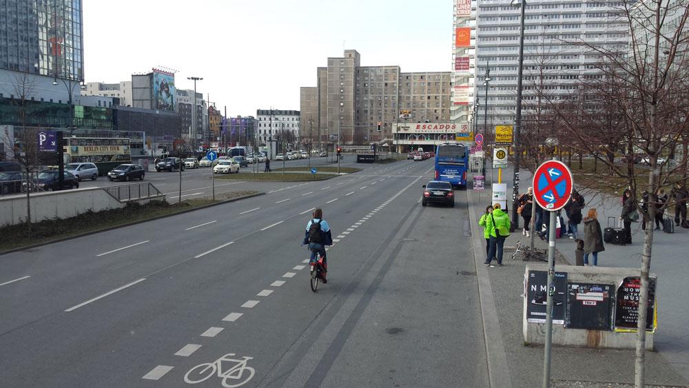 Startpunkt Bustour Ost.