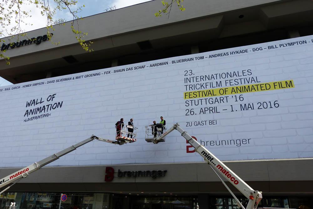 Internationales Trickfilm-Festival: Wall of Animation | KESSEL.TV