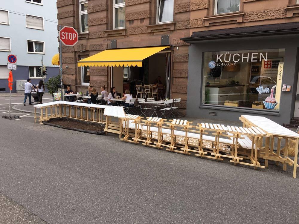 Parklets für Stuttgart – ein Realexperiment | KESSEL.TV