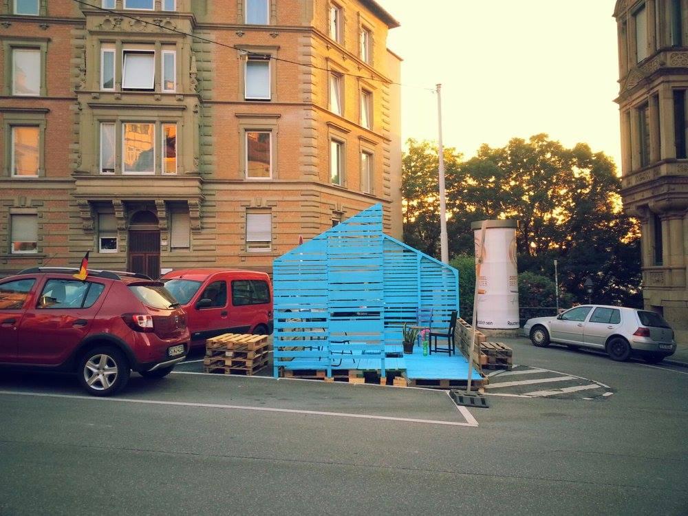 Schützenplatz (Bild FB Parklets für Stuttgart)
