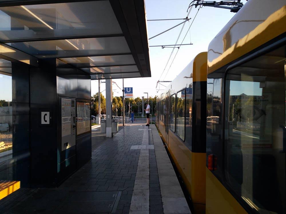 Hallschlag Station Impressionen.