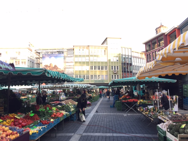 Der Marktplatz soll schöner werden