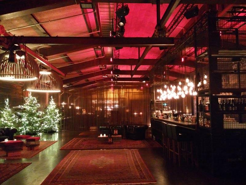 Bäm: Supper Club im Goldbergwerk (bis März garantiert ohne Weihnachtsbäume).