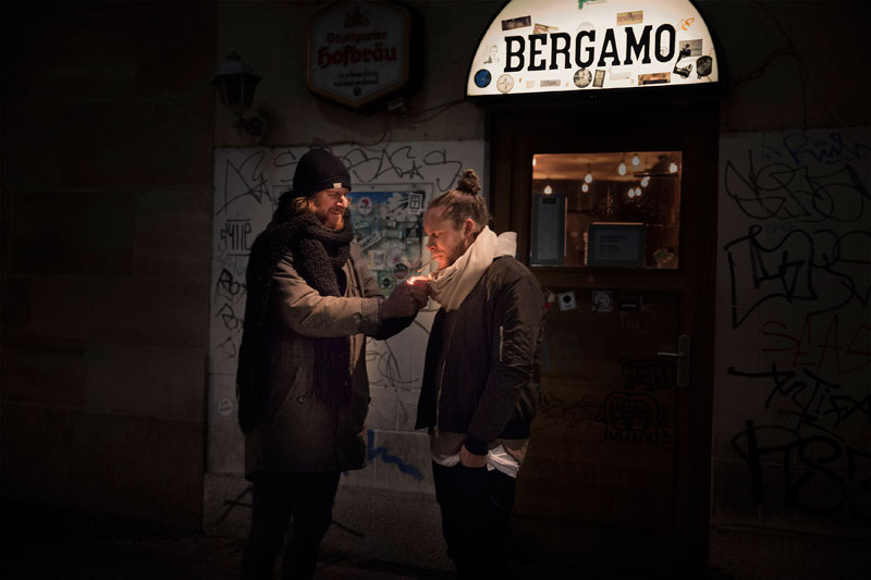 Das Bergamo in Stuttgart am Hans im Glück Brunnen   KESSEL.TV