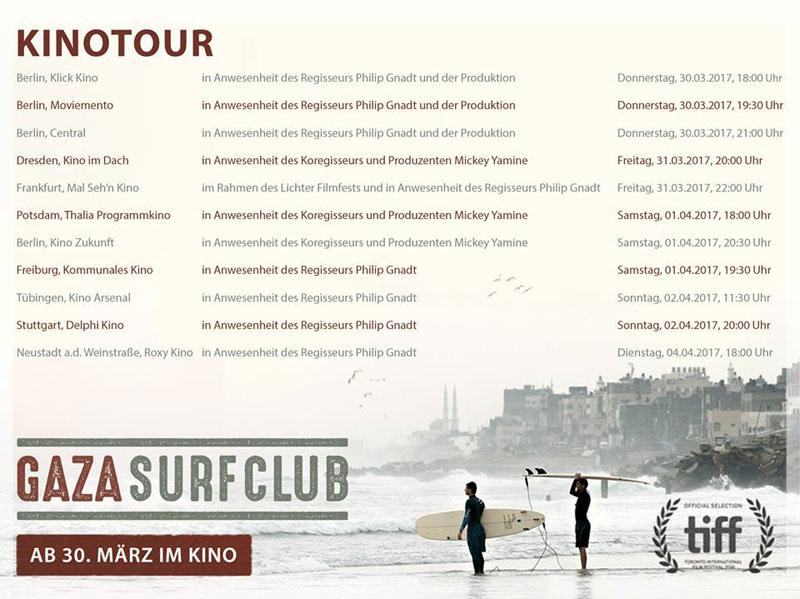 Doku Gaza Surf Club