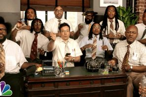 Jimmy Fallon, Migos & The Roots – Bad and Boujee (Office-Version)