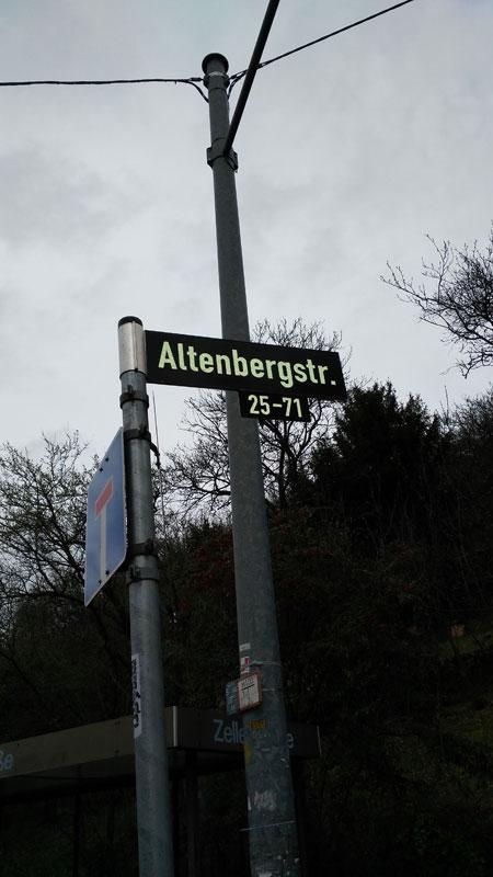 Auf den Spuren von Kollege Geiger.