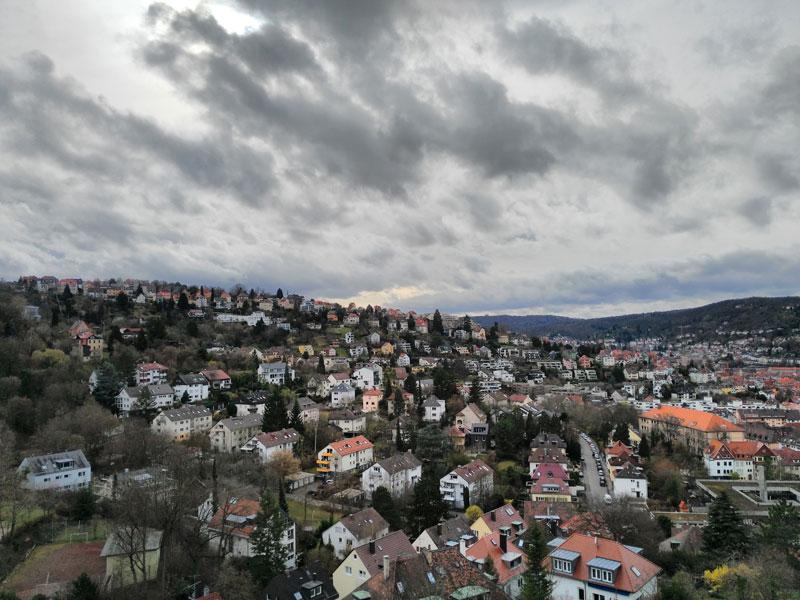 Weinsteige Hills View.