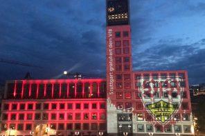 VfB Rathaus Illumination