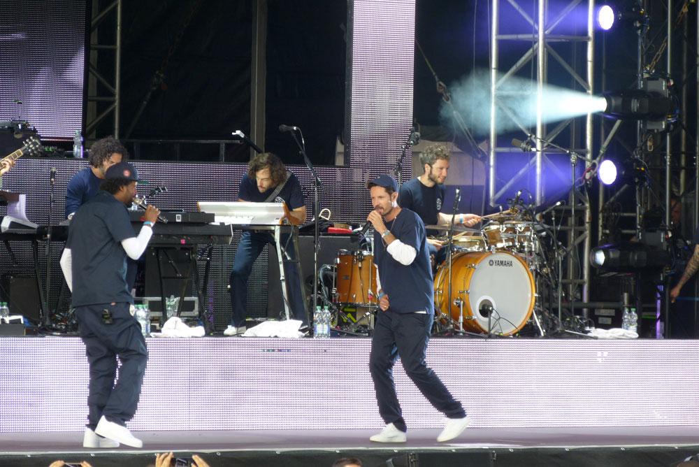 Neben Joy war auch Afrob fast die ganze Zeit auf der Bühne.