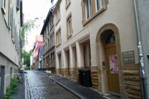 Bar Korridor in der Weberstraße