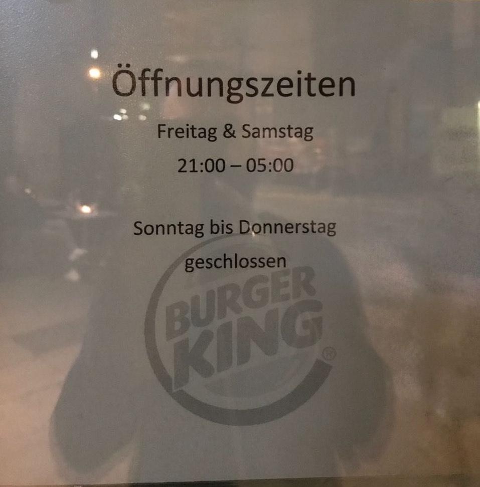 burger king frühstück uhrzeit