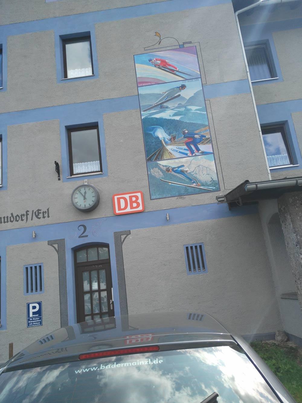 Ankunft Oberaudorf.
